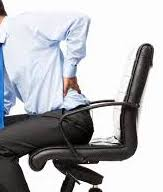 Back pain sitting at desks